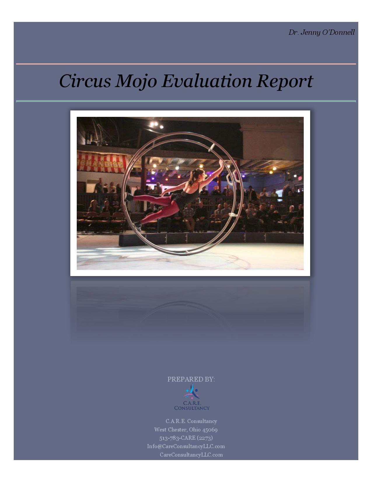 Circus Mojo Program Evaluation CARE.compressed page 001 1